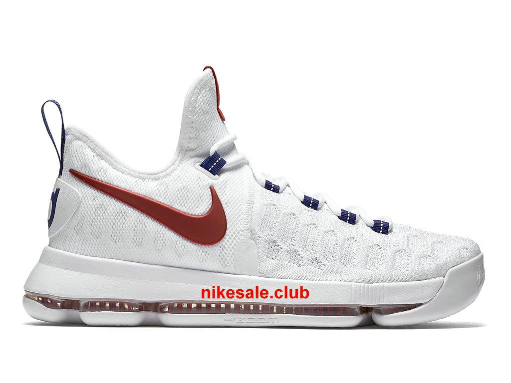 Chaussures De BasketBall Nike KD 9 USA Prix Pas Cher Pour