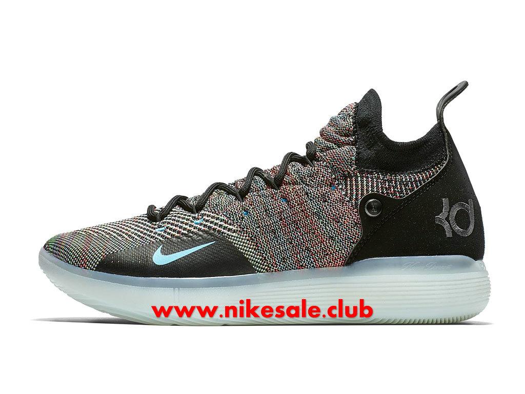 Chaussures De BasketBall Nike Zoom KD 11 EP Multicolor Homme Pas Cher Prix NoirPourpre AO2604 001 1806271589 Les Nike Magasins Discount